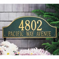 Address Markers and Plaques