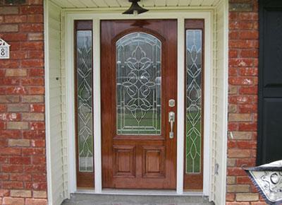 New Orleans Beveled Glass Doors