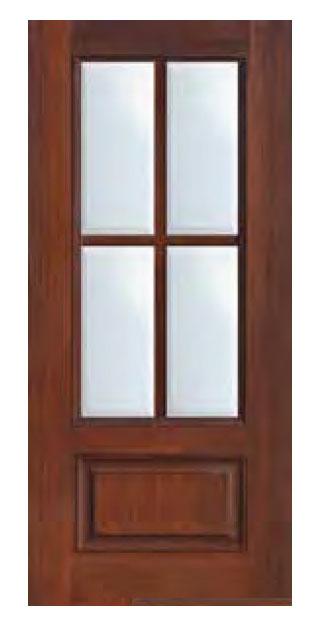 1 Panel 4 Lite SDL Door 681 - 1-Panel-4-Lite-SDL-Door-68
