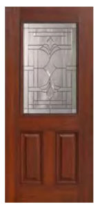 1 2 Lite Marsala Door1 145x300 - Fiberglass Doors Artisan Collection