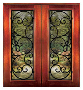 6 8 messina1 277x300 - Wood Doors with Iron Grilles