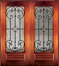 6 8 palermo1 - Wood Doors with Iron Grilles