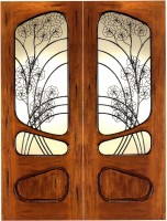 AN 2006 152x2001 - Wood Doors with Iron Grilles