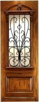 AN 2009 77x2001 - Wood Doors with Iron Grilles