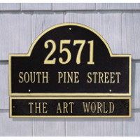 Arch Extension Estate Wall One Line 200x2001 - Address Markers and Plaques