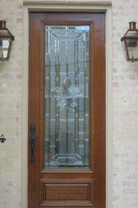 BEVEL GLASS Style 8 E Style Fleur de Lis copy 199x300 - Fleur de Lis Collection