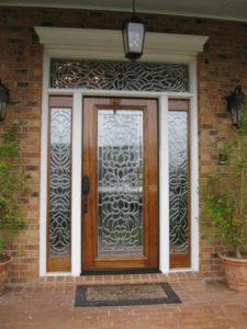 Bevel GlassIMG 07241 225x300 - Insulated Beveled Glass Doors