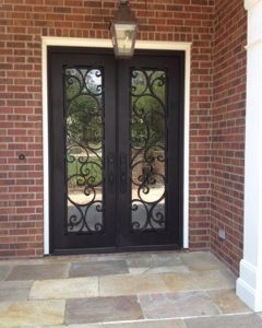 Bienville11 240x300 - Wrought Iron Doors