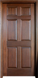 Colonial Six Panel1 146x300 - Solid Wood Doors