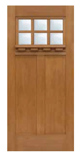 Craftsman 6 Lite SDL Door 68  - Craftsman-6-Lite-SDL-Door-68-