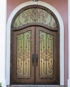 Dumaine11 240x300 - Wrought Iron Doors