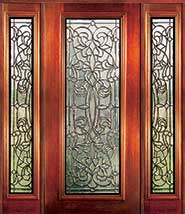 Florence - Insulated Beveled Glass Doors
