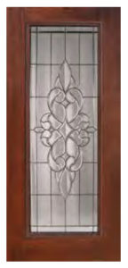 Full Lite Courtlandt Door 144x300 - Fiberglass Doors Artisan Collection