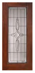 Full Lite Marsais Door 146x300 - Fiberglass Doors Artisan Collection