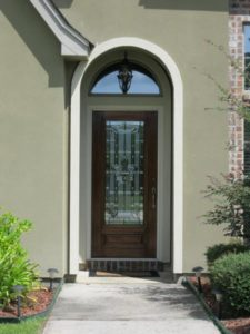 INSULATED BEVEL GLASS Style 3 4 E Style Fleur de Lis1 225x300 - Insulated Beveled Glass Doors
