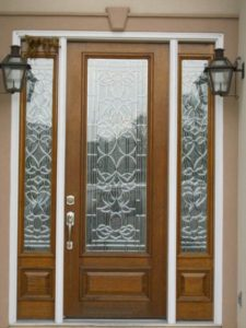 INSULATEDBEVEL GLASS Style 1131 225x300 - Insulated Beveled Glass Doors