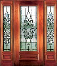 Jefferson - Insulated Beveled Glass Doors
