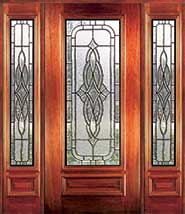 Lancaster - Insulated Beveled Glass Doors