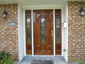 LeadedBevelGlassIMG 09491 300x225 - Insulated Beveled Glass Doors