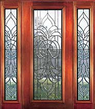 Lincoln - Insulated Beveled Glass Doors
