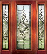 Manchester - Insulated Beveled Glass Doors