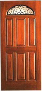 SUNRISE IRON 30151 138x300 - Solid Wood Doors