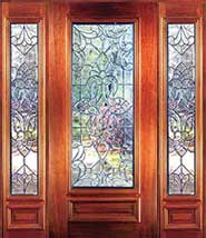 St Charles - Insulated Beveled Glass Doors