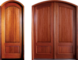 Tiffany Solid Panel 261x2001 - Solid Wood Doors