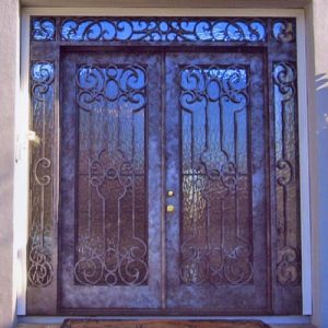 a 101 241 300x300 - Wrought Iron Doors