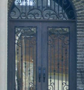 a 101 281 282x300 - Wrought Iron Doors