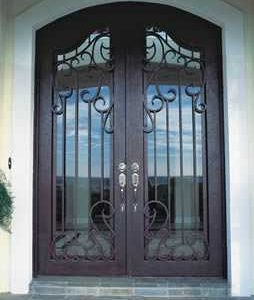 a 101 861 254x300 - Wrought Iron Doors
