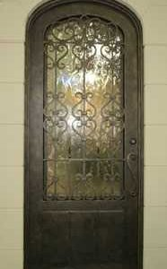 a 101 871 186x300 - Wrought Iron Doors