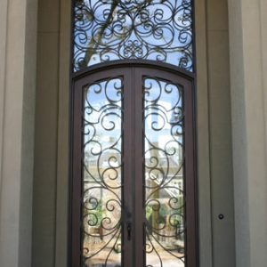 a 101 95 300x300 - Wrought Iron Doors