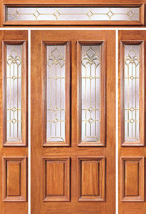 cEX 101 col1 205x300 - Insulated Beveled Glass Doors