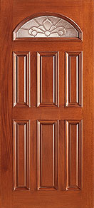 cUN 103a col - Insulated Beveled Glass Doors