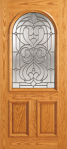 cUN 107a col - Insulated Beveled Glass Doors