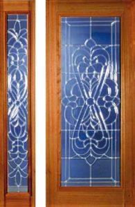 standarddoors116 116sl1 195x300 - Insulated Beveled Glass Doors