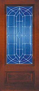 standarddoors2031 130x300 - Insulated Beveled Glass Doors