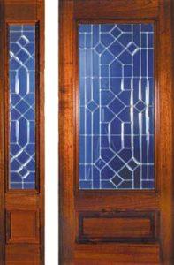 standarddoors208 208sl1 197x300 - Insulated Beveled Glass Doors