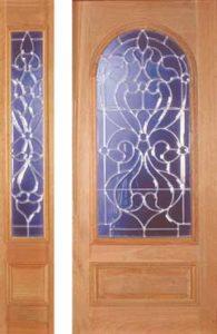 standarddoors209a 217sl1 195x300 - Insulated Beveled Glass Doors
