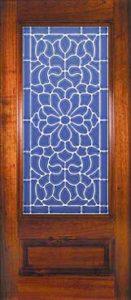 standarddoors21011 131x300 - Insulated Beveled Glass Doors