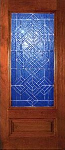 standarddoors2104b1 131x300 - Insulated Beveled Glass Doors