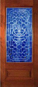 standarddoors2105b1 131x300 - Insulated Beveled Glass Doors