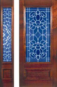 standarddoors213 213sl1 197x300 - Insulated Beveled Glass Doors