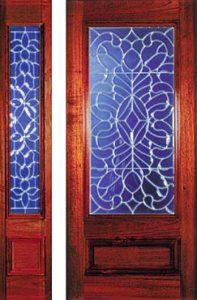 standarddoors2151 197x300 - Insulated Beveled Glass Doors