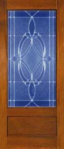 standarddoors2301 130x300 - Insulated Beveled Glass Doors