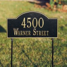whitehall products 1044 11 - Address Markers and Plaques