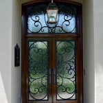 winston 150x1501 - Wood Doors with Iron Grilles