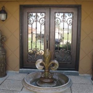 wrought iron21 300x300 - Wrought Iron Doors