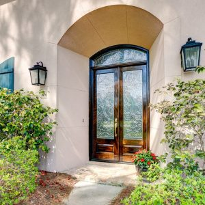 11 300x300 - Beveled Glass Transom & Doors Make for a Grand Entrance